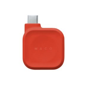 MACO GO Apple Watch 磁気充電ドック レッド