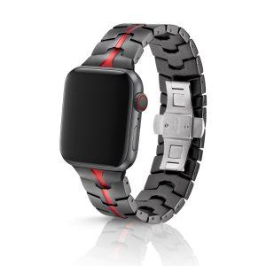 JUUK Vitero アルミニウムアロイ Apple Watch ブレスレット ルビーグレー 42/44mm