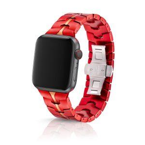 JUUK Vitero アルミニウムアロイ Apple Watch ブレスレット クリムゾン 42/44mm