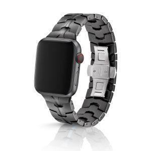 JUUK Vitero アルミニウムアロイ Apple Watch ブレスレット コズミックグレー 38/40mm
