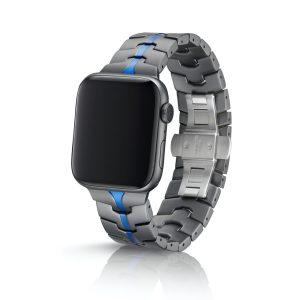 JUUK Vitero アルミニウムアロイ Apple Watch ブレスレット アズール 42/44mm