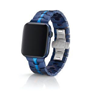 JUUK Vitero アルミニウムアロイ Apple Watch ブレスレット コバルト 42/44mm