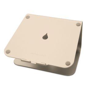 rain design mStand アルミニウムアロイ製 ラップトップスタンド ゴールド