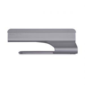 rain design mTower アルミニウムアロイ製 Vertical MacBook スタンド スペースグレー