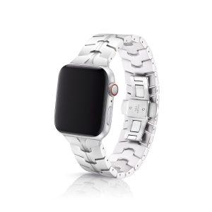 JUUK Vitero アルミニウムアロイ Apple Watch ブレスレット シルバー 42/44mm