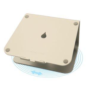 rain design mStand 360 アルミニウムアロイ製 ラップトップスタンド ゴールド