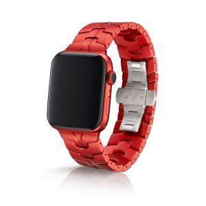 JUUK Vitero アルミニウムアロイ Apple Watch ブレスレット ルビー 42/44mm