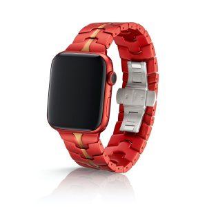 JUUK Vitero アルミニウムアロイ Apple Watch ブレスレット クリムゾン II 42/44mm
